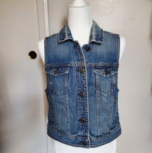 American Eagle women's denim vest